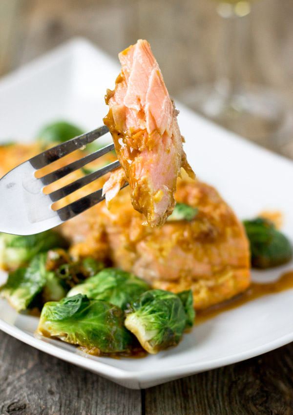 ... @ http://lightorangebean.com/roasted-salmon-orange-ginger-glaze