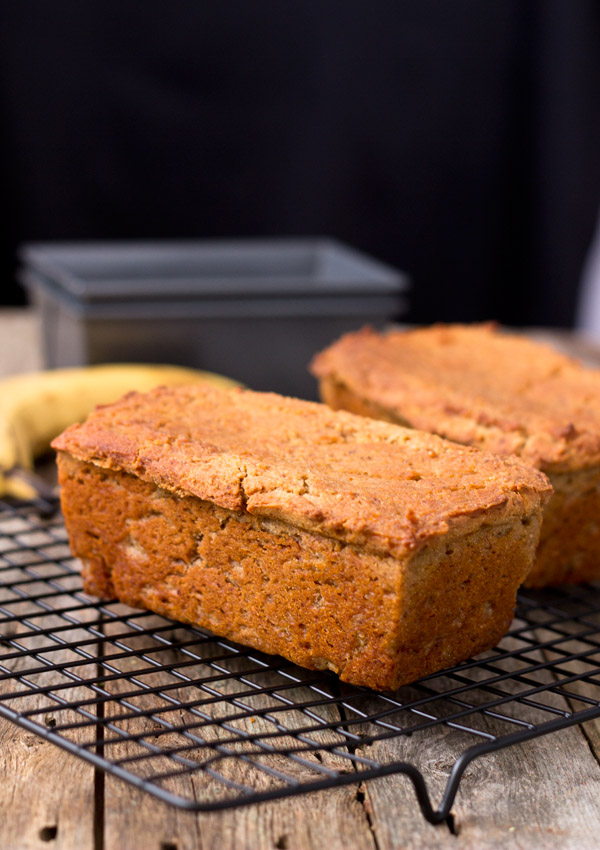 Mini Banana Loaf Light Orange Bean