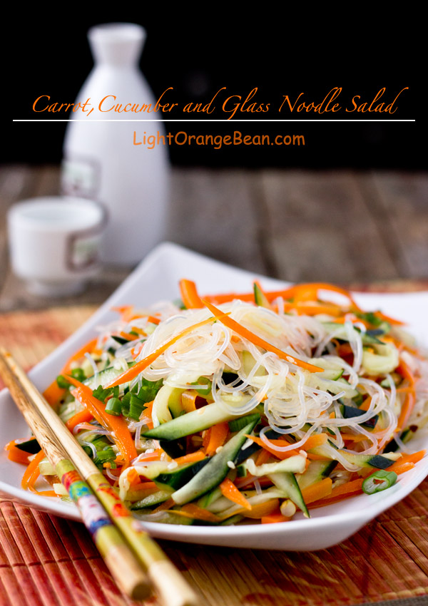 Carrot Cucumber And Glass Noodle Salad