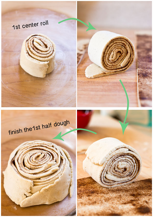 Not only is this jumbo cinnamon roll cake gluten-free, but it's also vegan and low in sugar. Add this recipe to your list of healthy and great tasting gluten-free pastries.