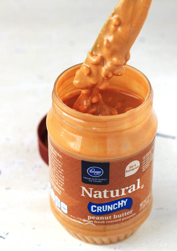 no mess natural peanut butter stir