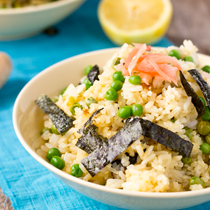 Sweet Ginger Sushi Rice Bowl