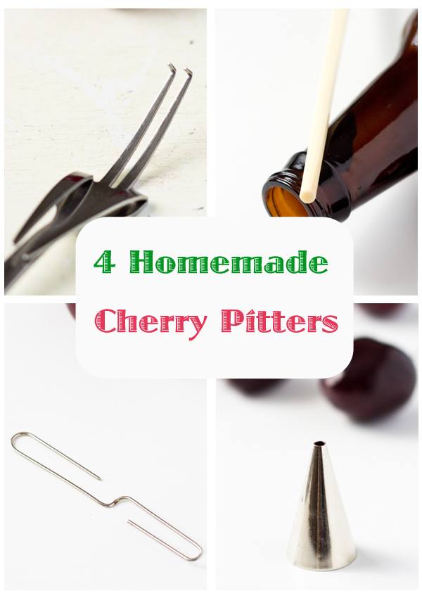 Homemade Cherry Pitter