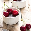 Vegan Chocolate Cherry Pudding + Homemade Cherry Pitter