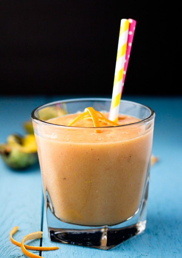 Creamy Citrus Pawpaw Smoothie