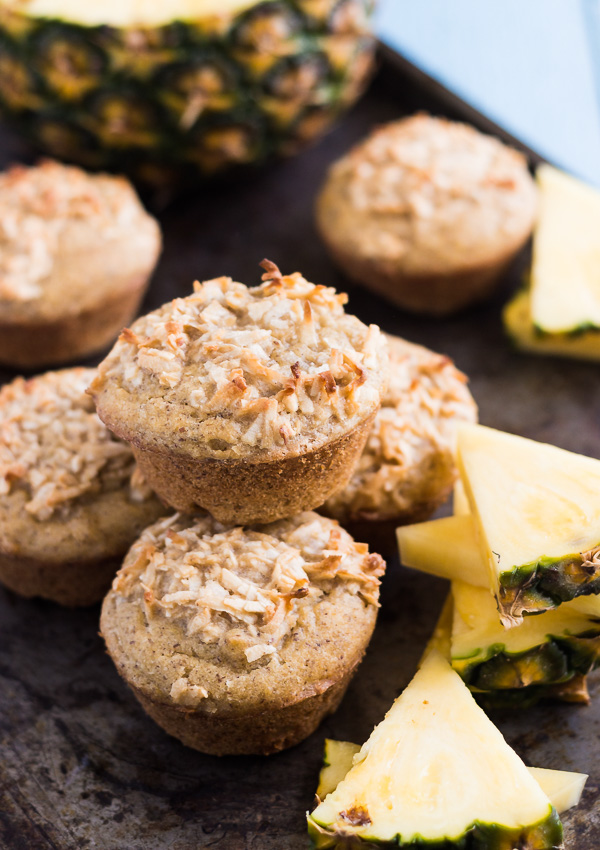 Coconut Pineapple Muffins