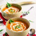 Creamy Coconut Tomato Bisque