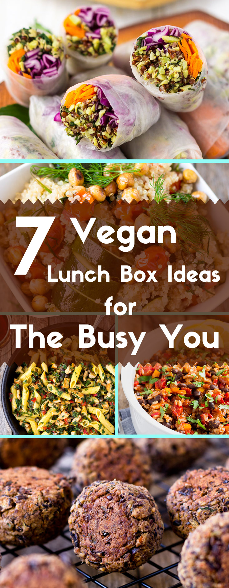 7 Vegan Lunch Box Ideas for The Busy You