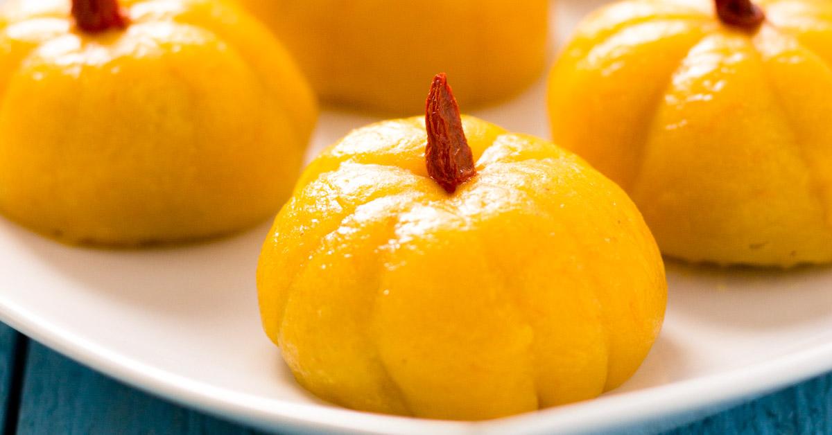 Mini Pumpkin Rice Cake Light Orange Bean