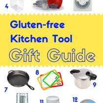 Gluten-free Kitchen Tool Gift Guide