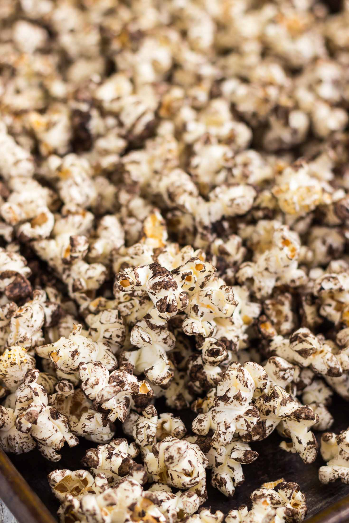 Vegan Sea Salt Chocolate Popcorn