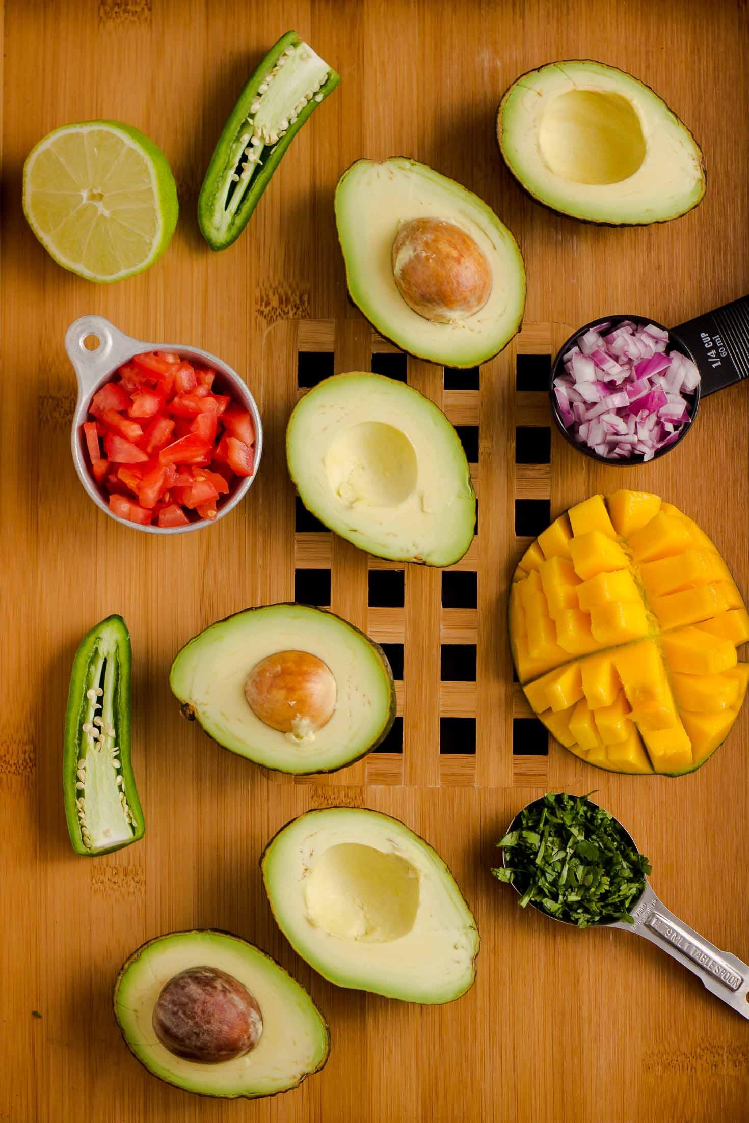 Ultra-Fresh Mango Guacamole