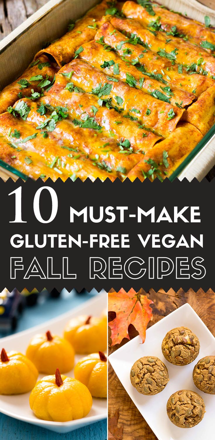 10 Must Have Makeup Palettes For 2017: 10 Must-Make Gluten-free Vegan Fall Recipes