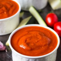 Sugar-free Fresh Tomato Ketchup