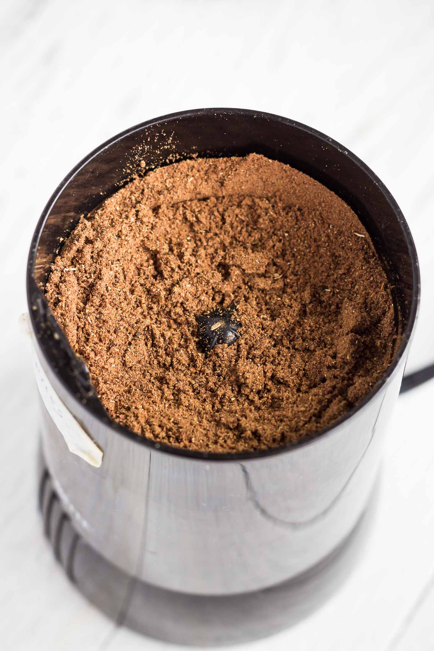 Chinese 5-spice powder-in coffee grinder