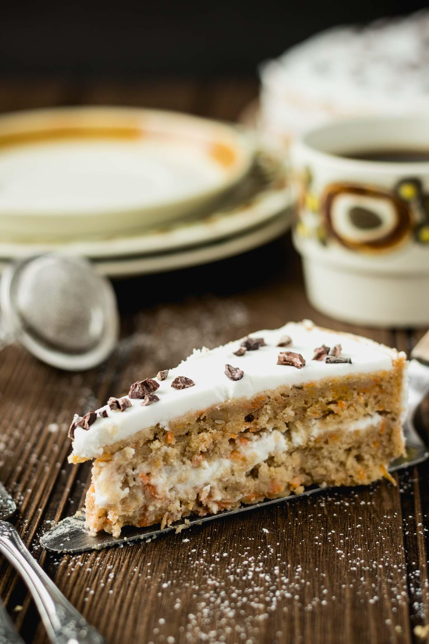 Calories In Vegan Carrot Cake Slice