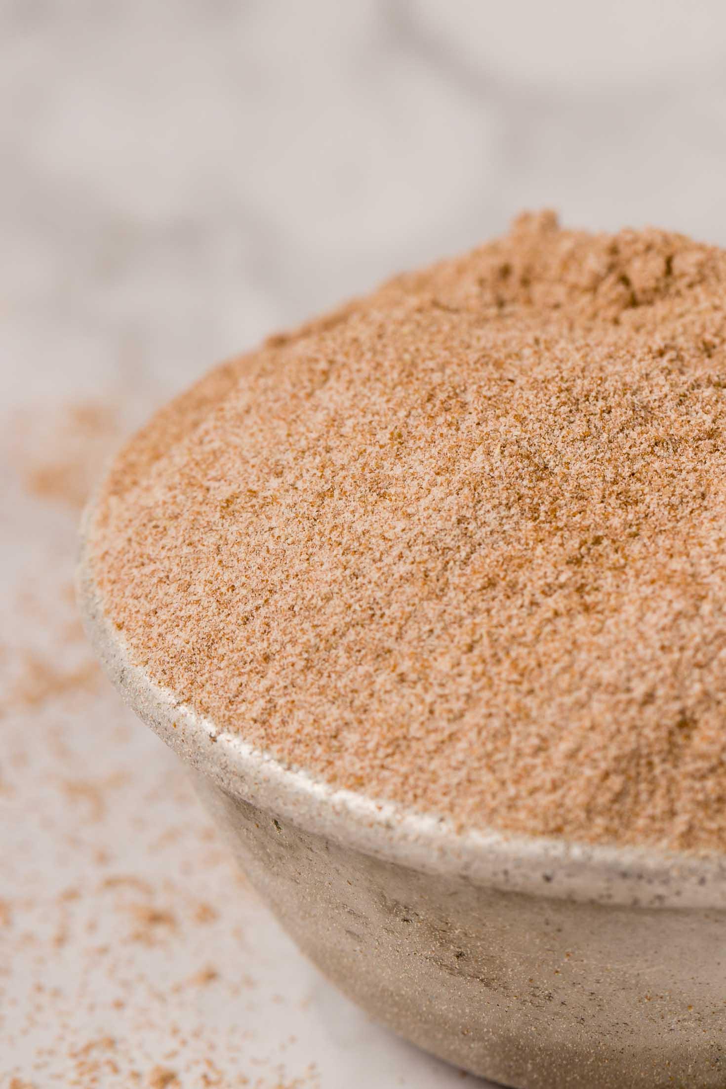 2-ingredient Gluten-free Sourdough Starter-brown teff flour