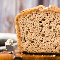 The Best Homemade Gluten-free Bread-small image-closeup view of the texture