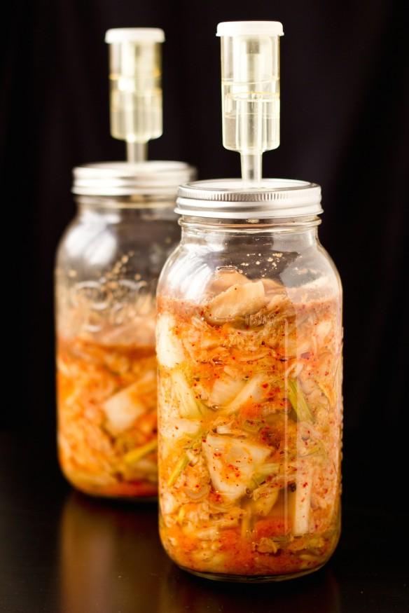 kimchi-fermant in jar
