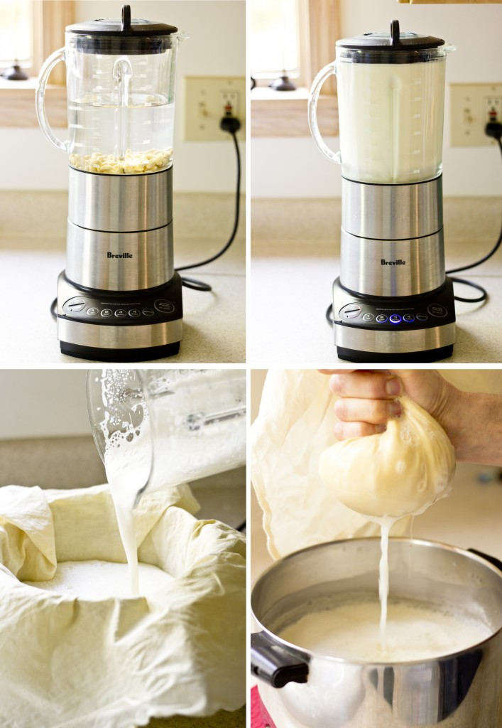 soymilk-making process