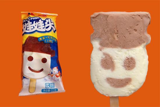 Little Snowman Ice Cream-娃娃头雪糕