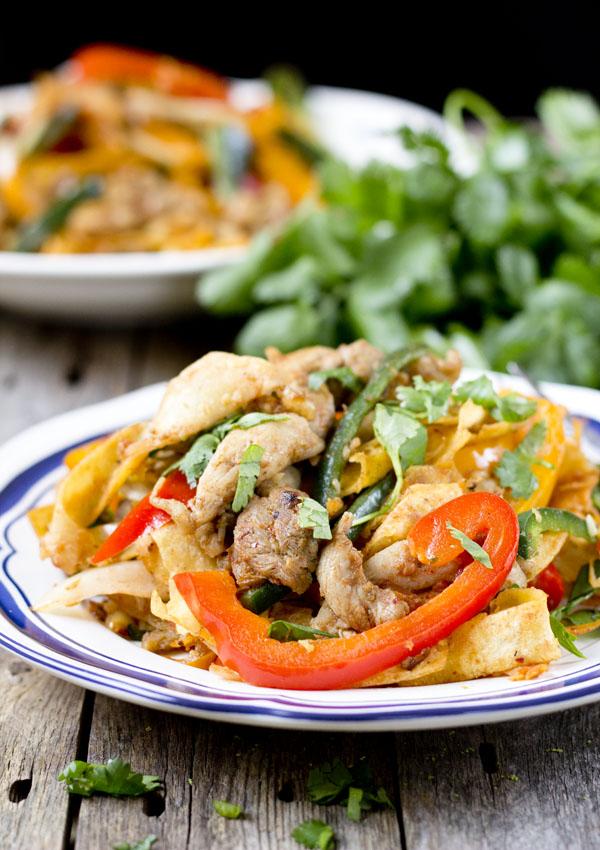 Chicken Fajita Stir-Fry-feature