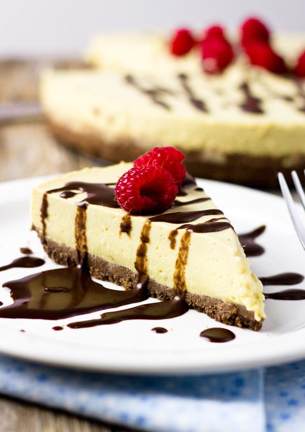 Dairy-Free Mango Cheesecake-feature
