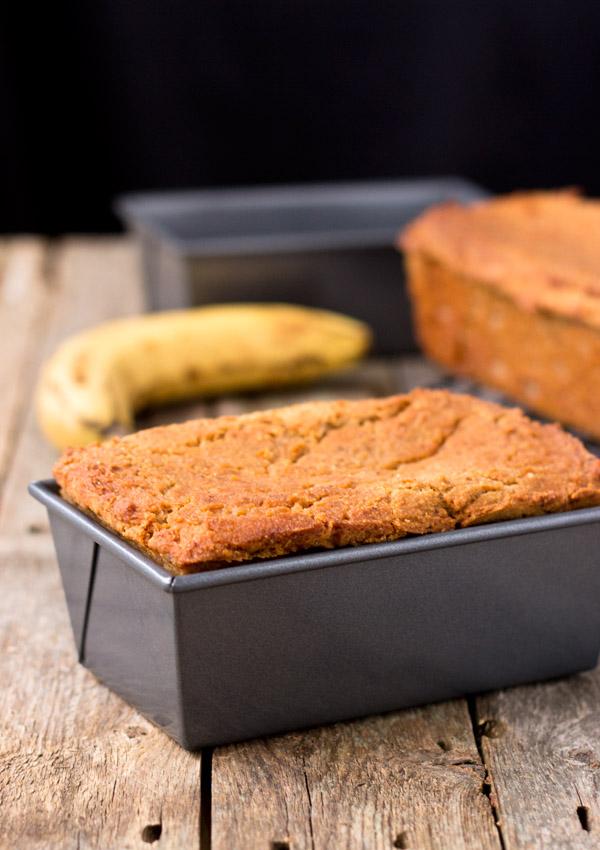 Mini Banana Loaf-in loaf pan