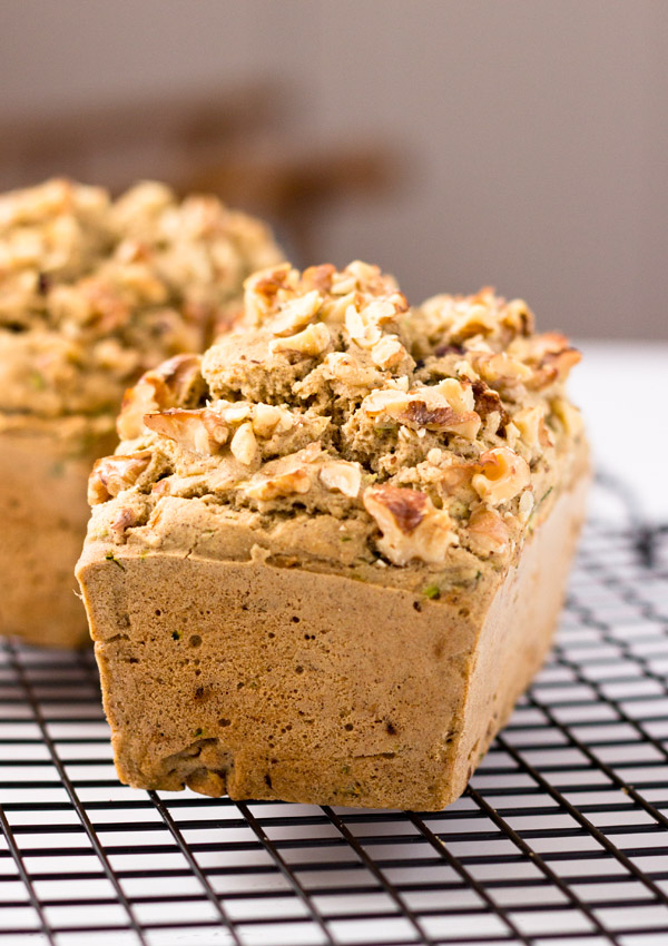 This hearty baked zucchini walnut loaf is full of nutrients such as vitamins, omega-3 DHA, and essential minerals in every slice. Cut a slice for breakfast or a mid-afternoon snack with a cup of strong coffee; it will make your day instantly better!
