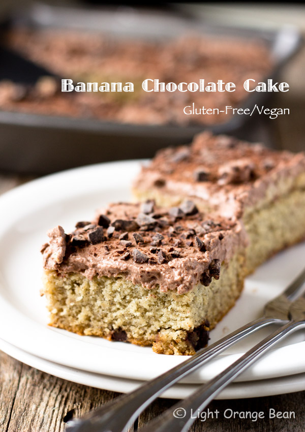This ultimate banana chocolate cake has a fluffy and soft texture with a divine banana flavor and a thin layer of rich coconut cream frosting. You'll be impressed with how charming and tasty this cake is and won't feel guilty having a second piece.