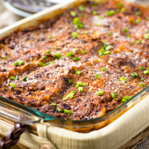 This black bean vegan lasagna is gluten-free with the cheesy soft warm pasta that is layered between luscious, juicy, and perfectly seasoned black beans, tomato, and onion sauce.