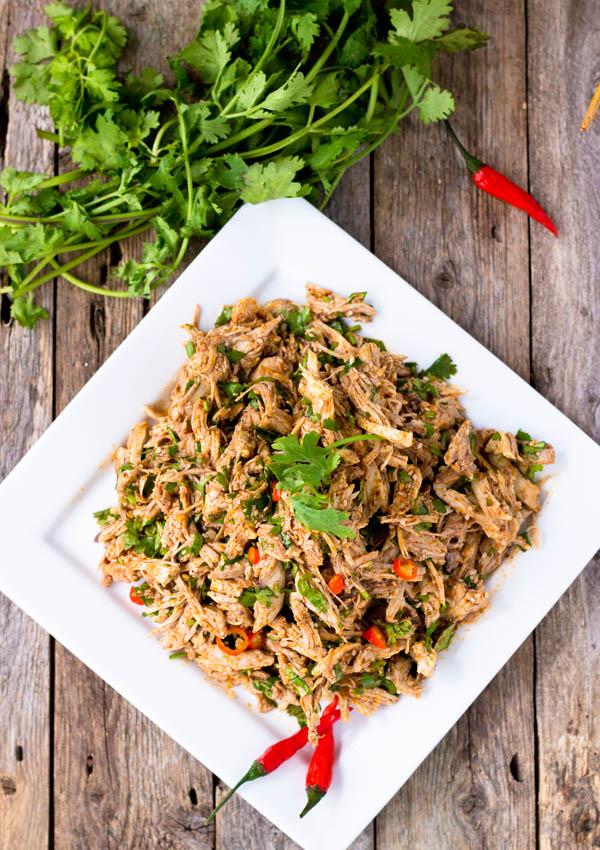Sichuan Spicy Chicken Salad