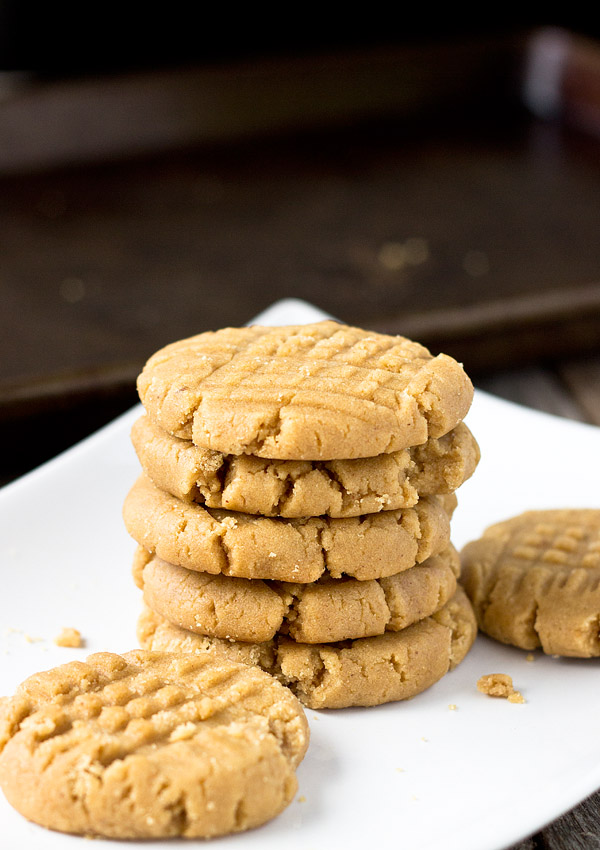 soft and buttery peanut butter cookies