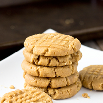 These soft and buttery peanut butter cookies, made with creamy natural peanut butter, are savory and sweet in every bite. If you like peanut butter, enjoy eating soft cookies, and are following a gluten-free and/or vegan diet, this is a recipe you will want to bookmark.