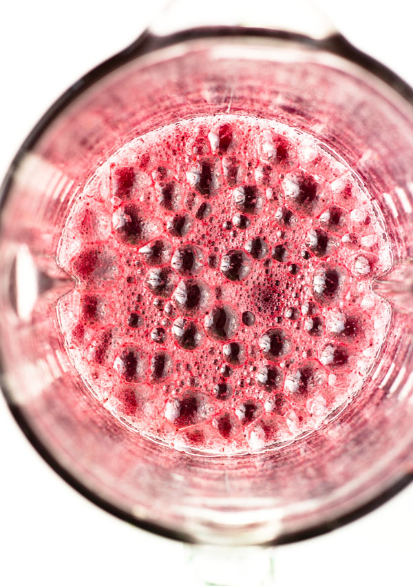 Ginger Blueberry Water Kefir Probiotic Punch