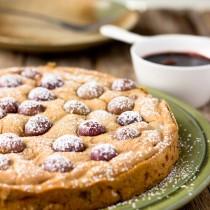Fresh Red Grape Cake