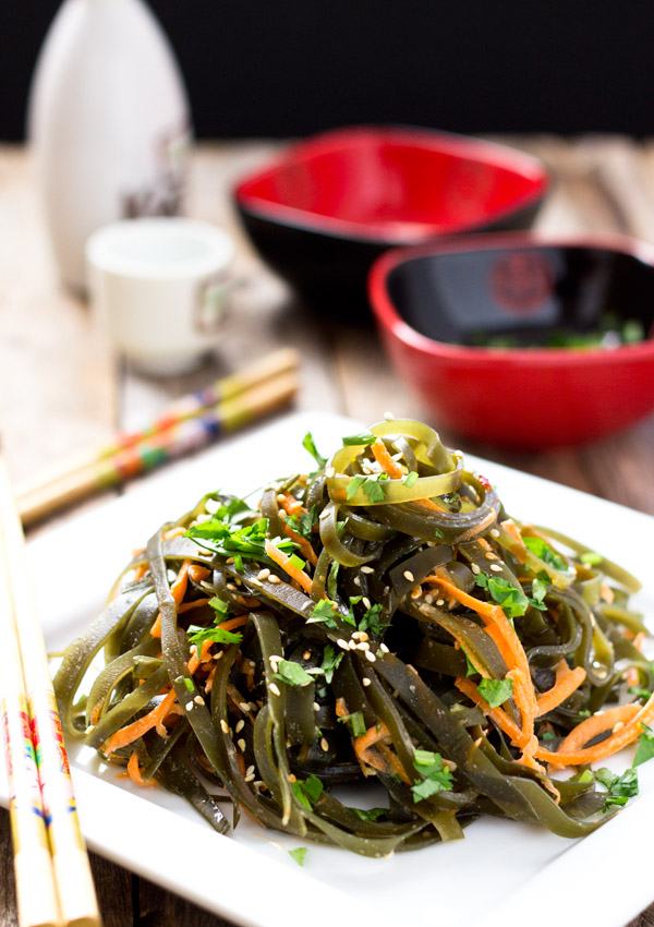 Chinese seaweed salad kombu light orange bean chinese seaweed salad forumfinder Image collections