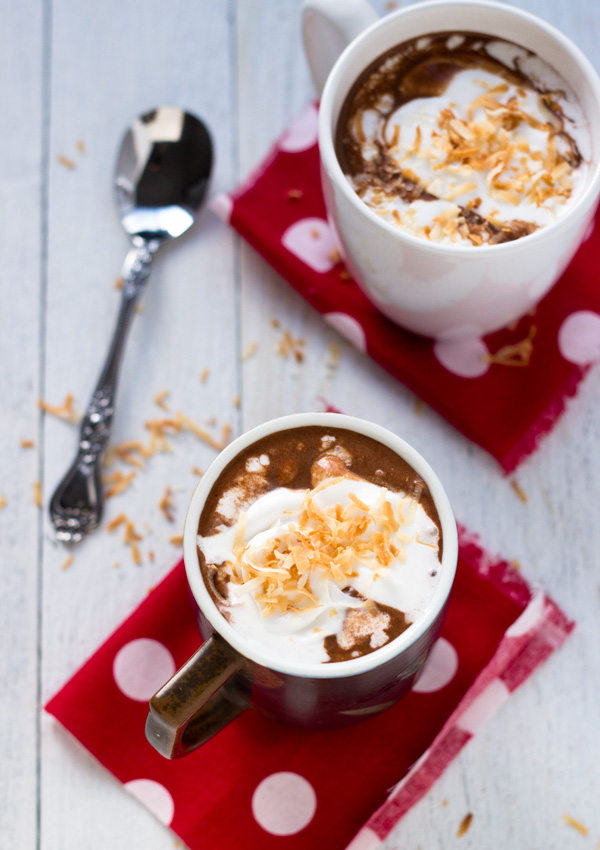 Vegan Coconut Hot Chocolate