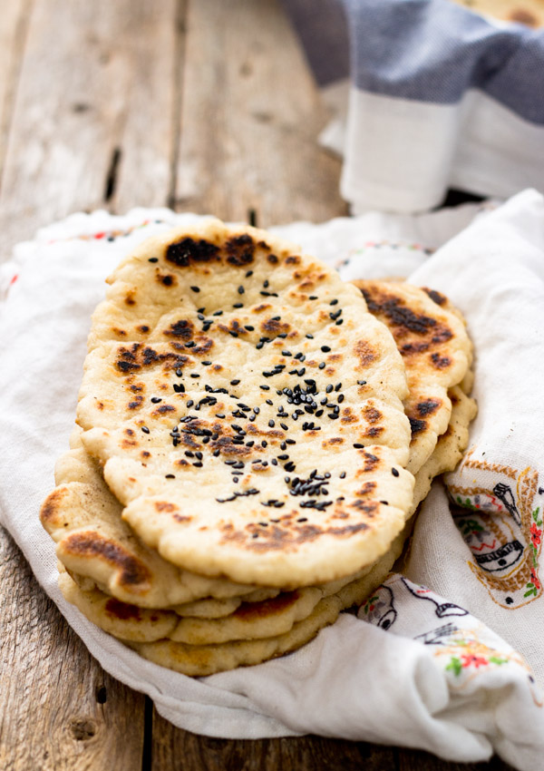 Gluten Free Naan Bread Light Orange Bean