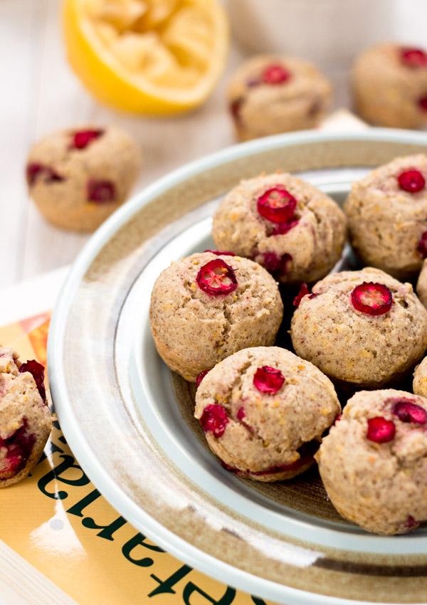 Mini Orange Cranberry Muffins