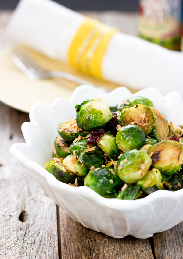 Simple Stir-fry Brussels Sprouts