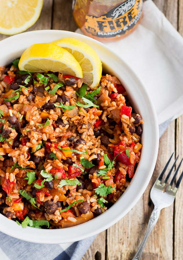 Mexican Rice with Black Beans