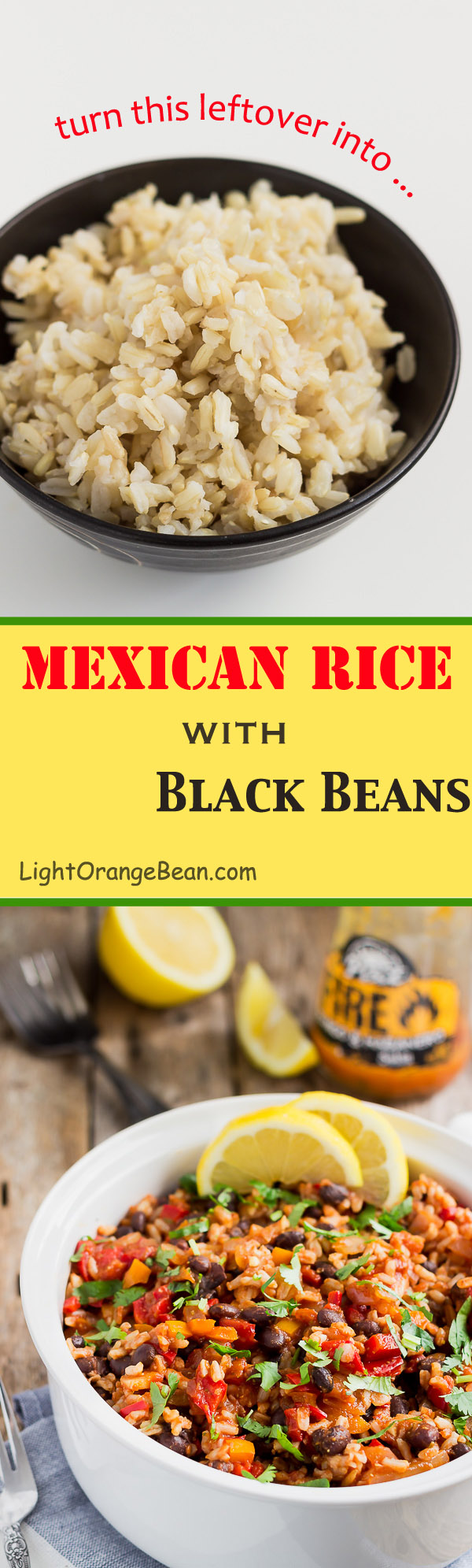 If you happen to have some leftovers and want to turn them into a healthy, quick, and flavorful meal, you should definitely try this Mexican rice with black beans. The variety of spicy flavors, from the garlic, onion, salsa, and cumin, blends really well with the sweet and tangy taste from the salsa and tomato.  (#vegan #glutenfree #glutenfreevegan #glutenfreemeals #leftovermakeover #leftoverrice #veganmeals #mexicanrice)