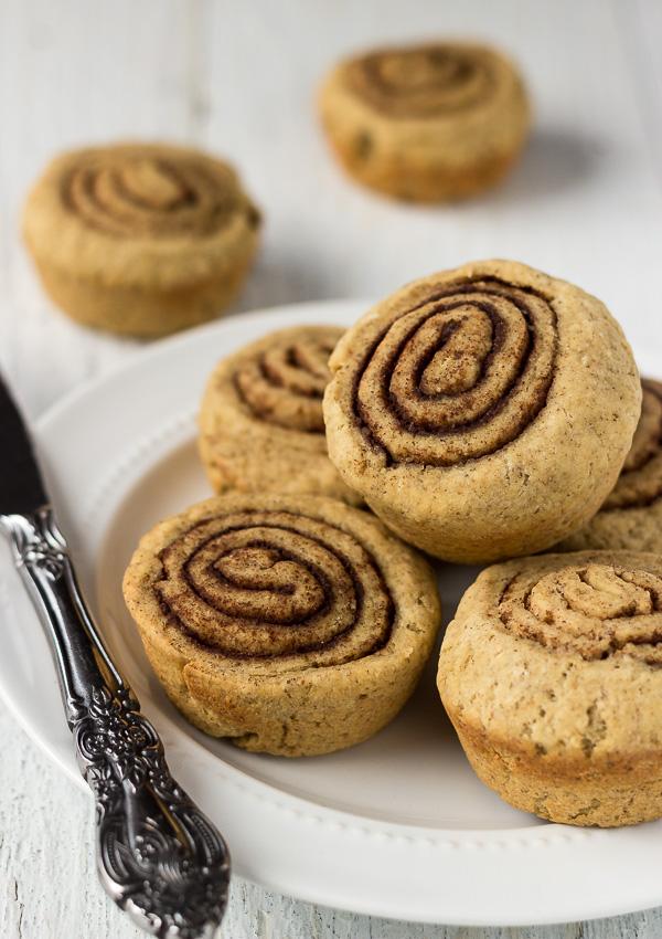 Millet Cinnamon Rolls