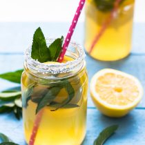 Mint Lemonade Water Kefir