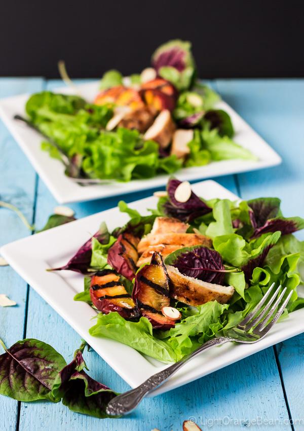Grilled Chicken Amaranth Salad