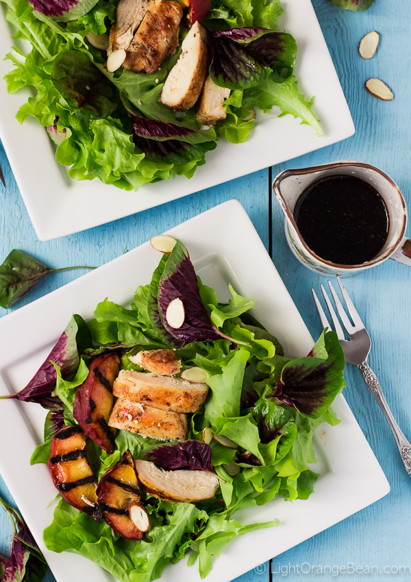 Grilled Chicken Amaranth Salad