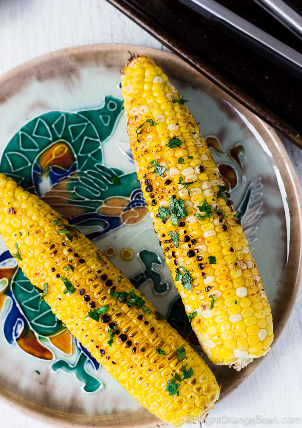 Sichuan Style Spicy Grilled Corn