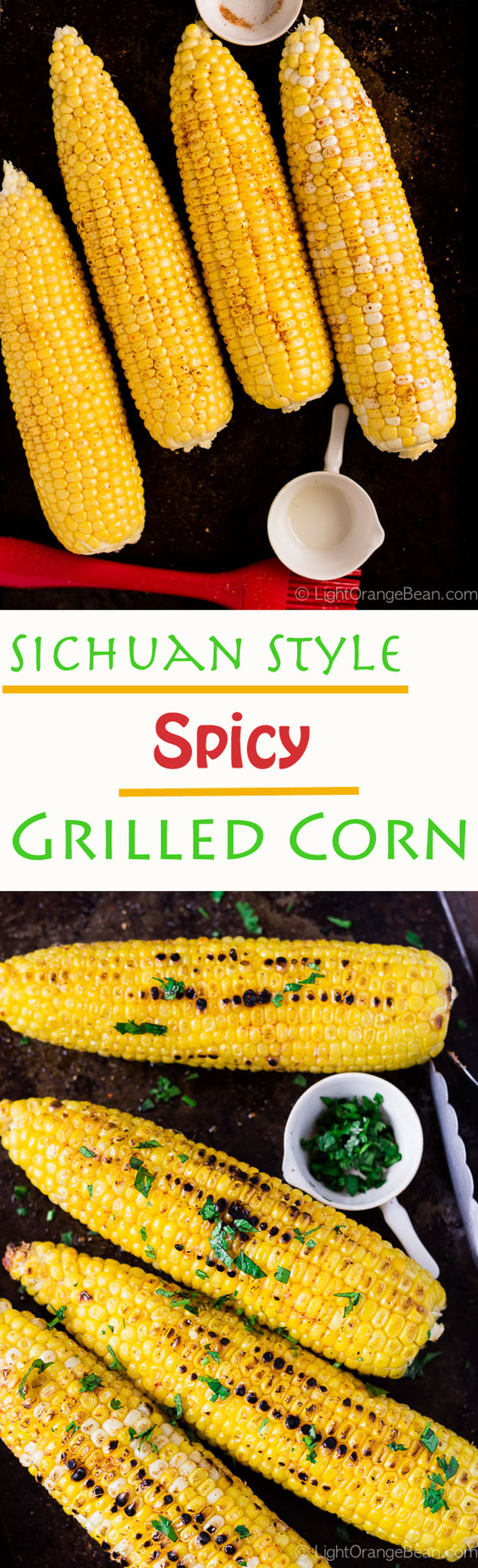 With a few tips and only 6 ingredients, you can make this Sichuan style spicy grilled corn on the cob like a pro.  They have a sweet, pungent, and smoky taste.  You'll want to have more than one.