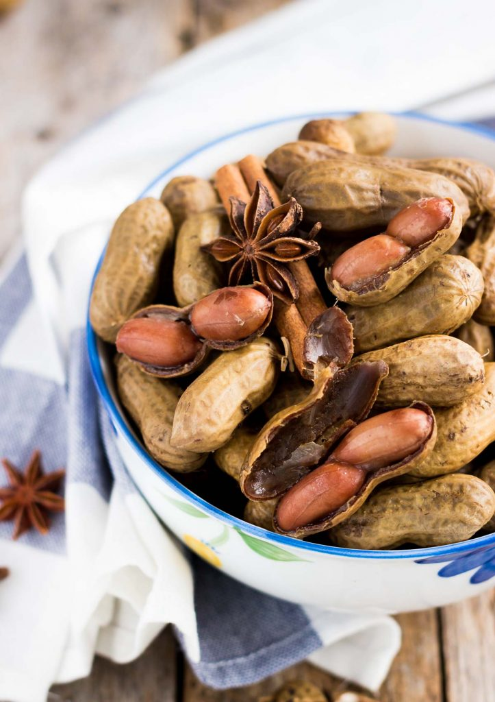Pressure Cooker Chinese Five-spice Boiled Peanuts